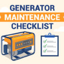 Generator Maintenance Checklist