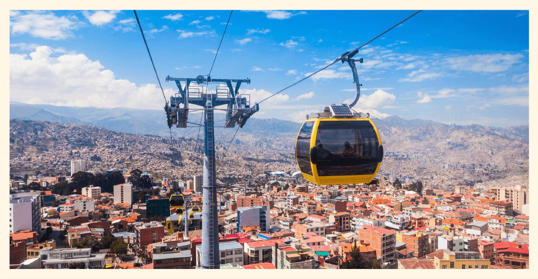 Mi Teleférico in La Paz, Bolivia