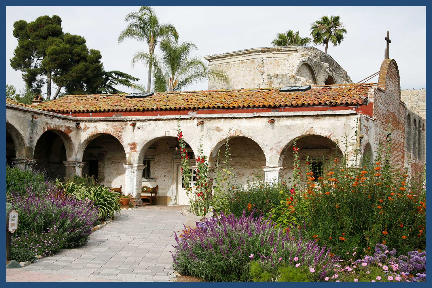 Mission San Juan Capistrano in California