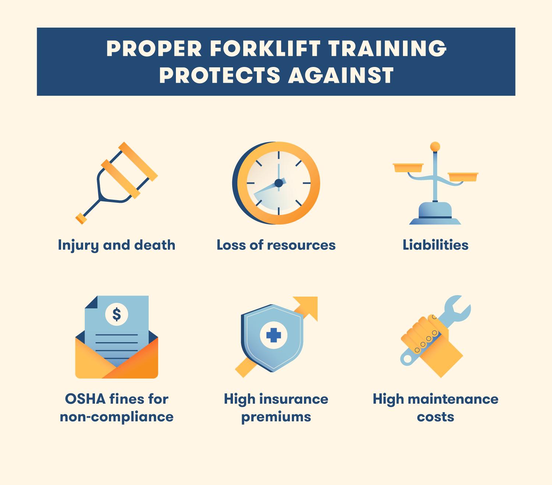 proper forklift training tips
