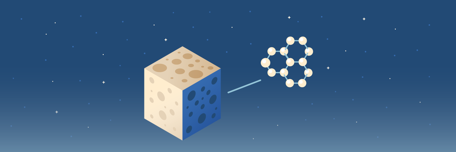 space construction materials graphene