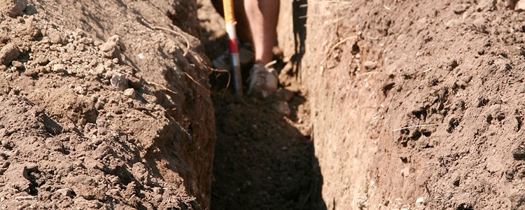 How to Dig a Trench Really Fast
